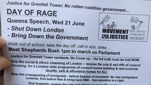 `Day of Rage´ protest demanding `justice for Grenfell´