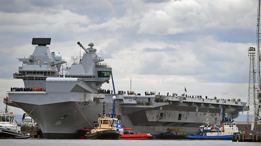 Britain's Big New Warship Still Runs Windows XP