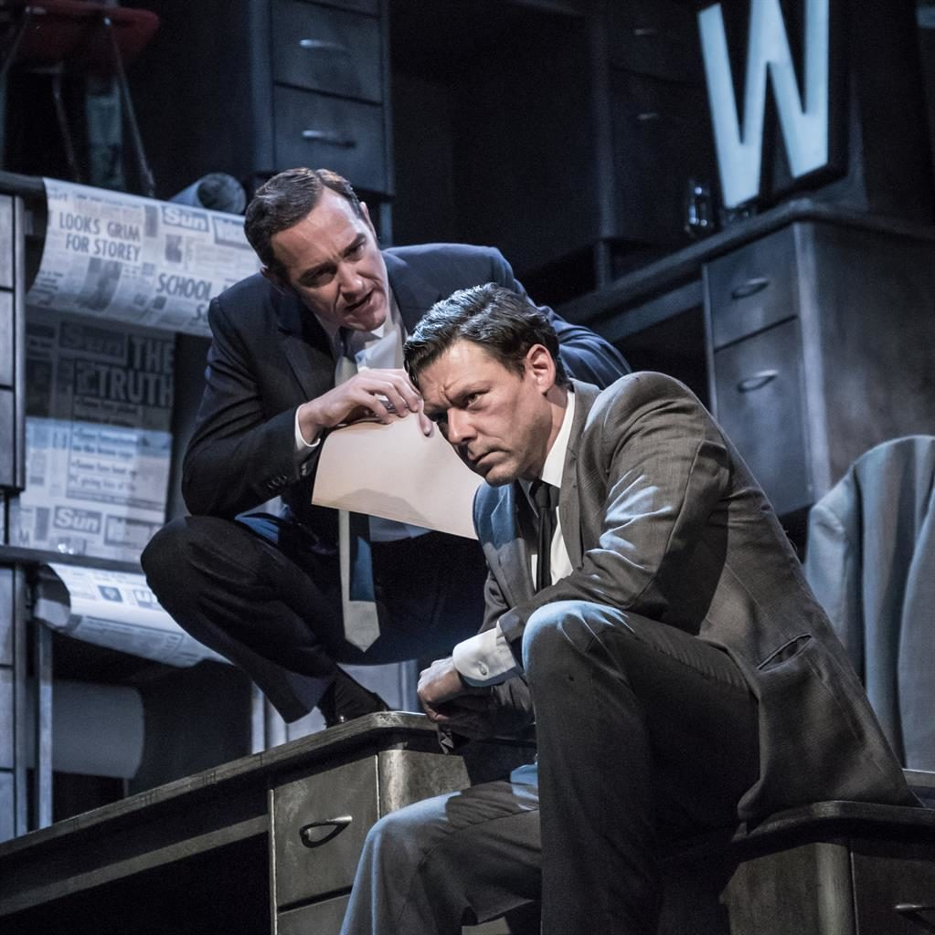 Team: Bertie Carvel and Richard Coyle