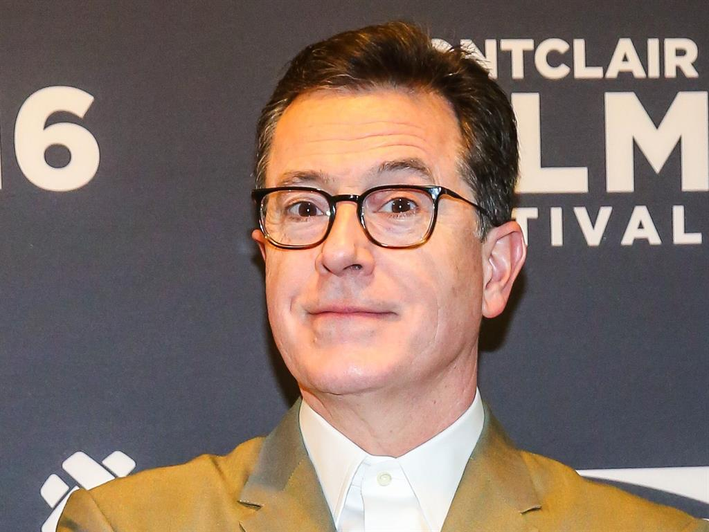 Russian in? Stephen Colbert