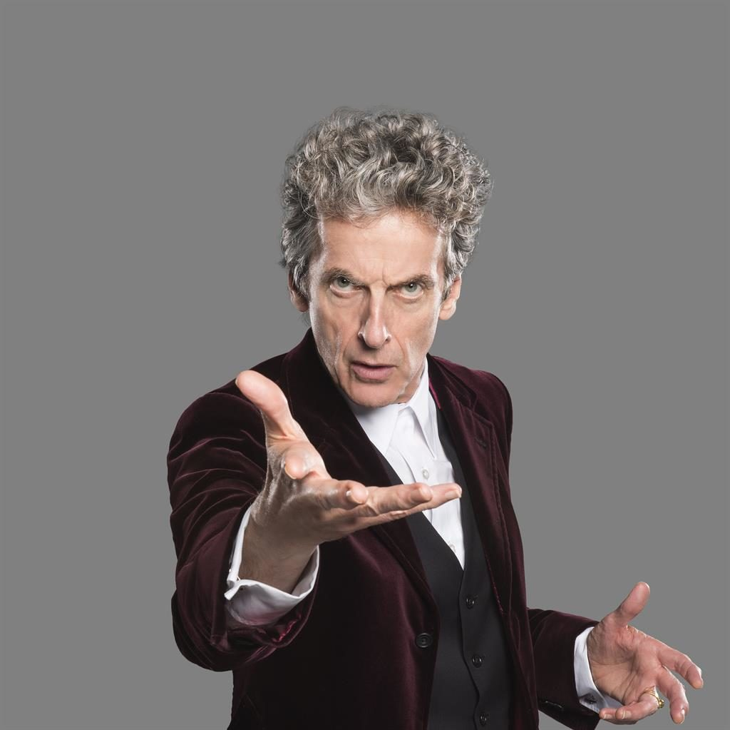 Time to go: Peter Capaldi PICTURE: BBC