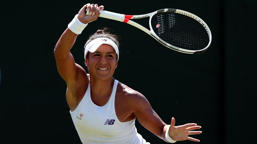 Heather Watson stuns 18th seed Anastasia Sevastova at Wimbledon