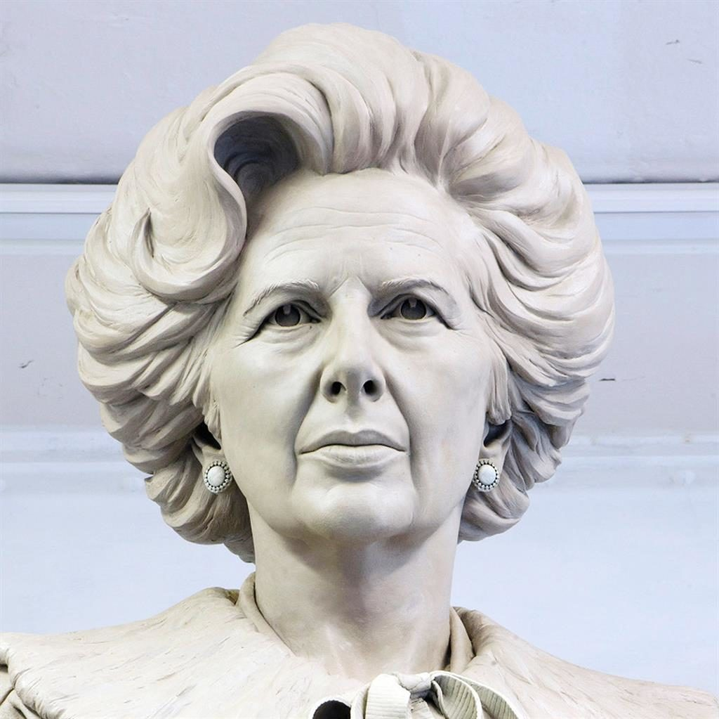 Theresa May says vandalism fears must not halt Margaret Thatcher statue