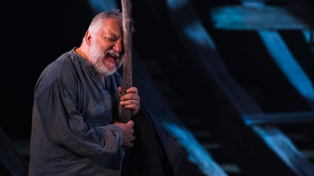 Magical performance: Simon Russell Beale excels as Prospero PICTURES : TOPHER MCGRILLIS