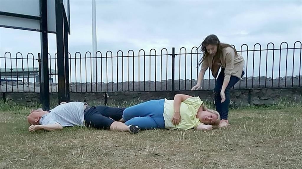 Dirty Dancing Fail! A Couple Knocked Each Other Unconscious