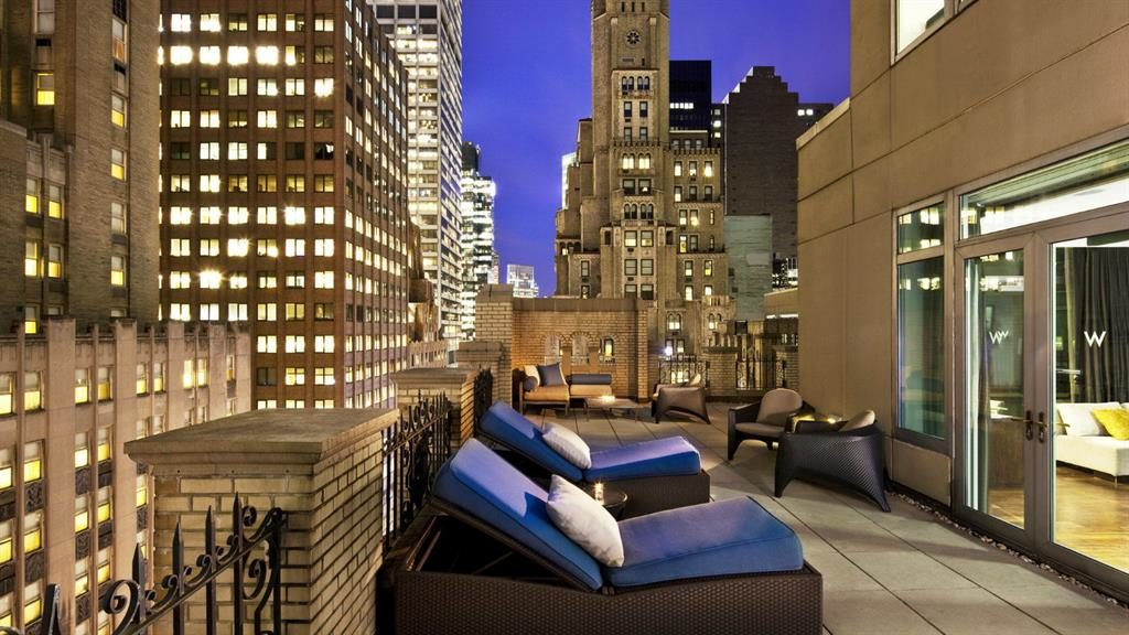 Available: New York's W Hotel