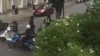 Sleazy riders: Moped gang targets bike