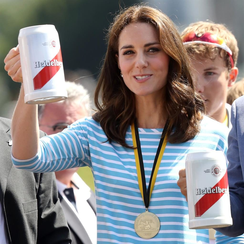 Prince William triumphs over Duchess of Cambridge in boat race
