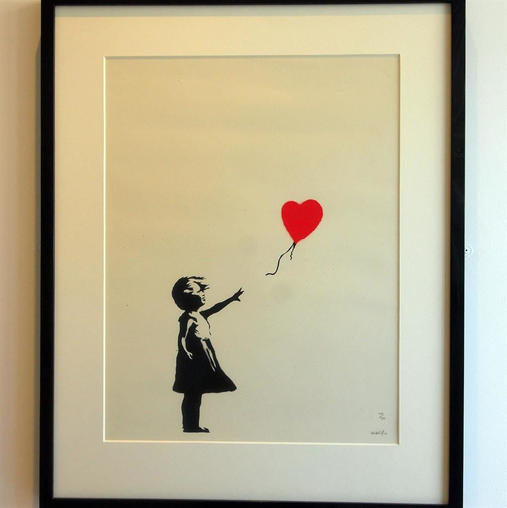 Banksy\'s red Balloon Girl wins the art of the nation | Metro ...