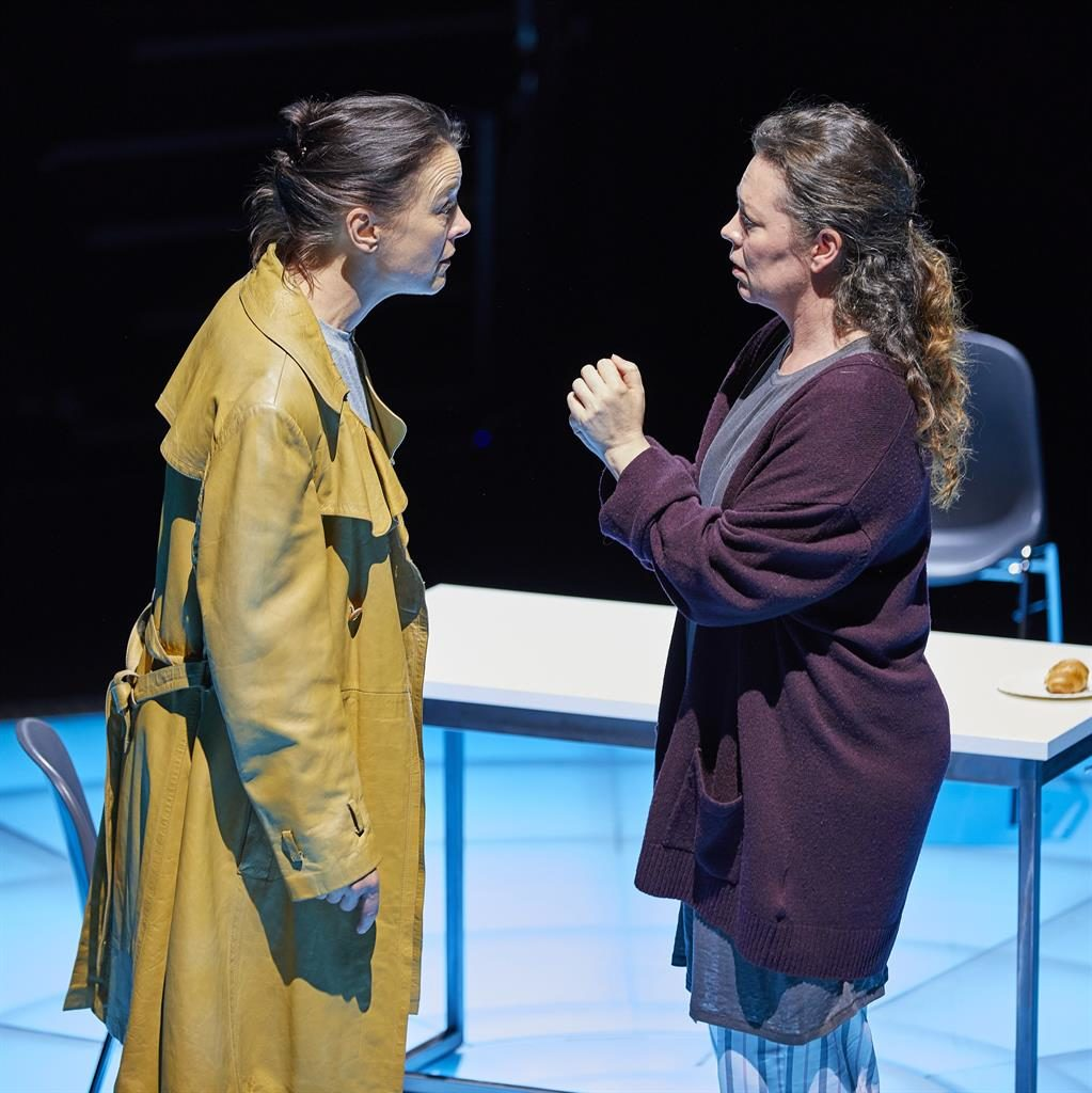 Sting in the tale: Olivia Williams (left) and Olivia Colman in Mosquitoes