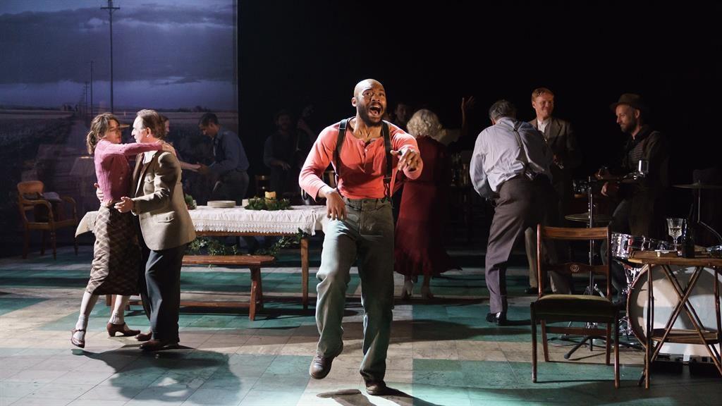 Poverty blowin' in the wind: Arinze Kene as Joe Scott PIC: MANUAL HARLAN