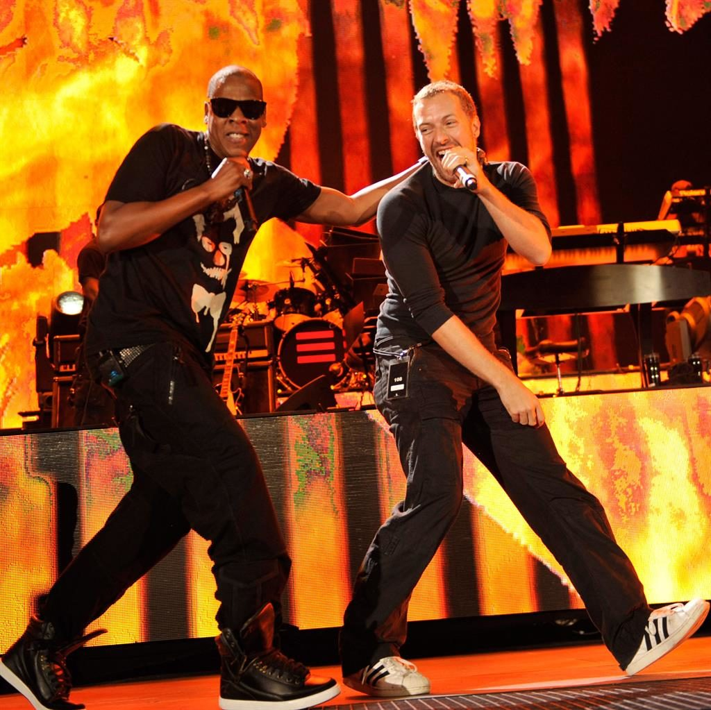 Rock's Bard boy: JAY-Z says pal Chris Martin is a 'genius' PIC: WIREIMAGE