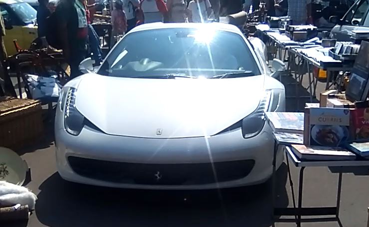 How Much For The Ferrari? Parking Gaffe Leaves Supercar Owner Trapped In  Car Boot Sale