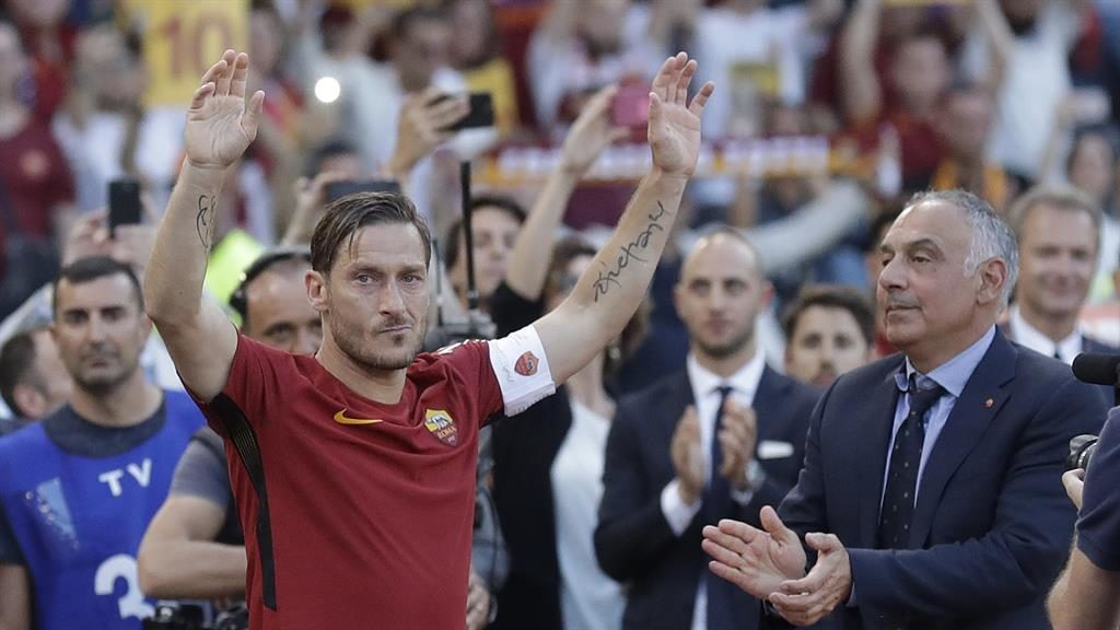 Roma legend's,Francesco Totti final shirt launched into space