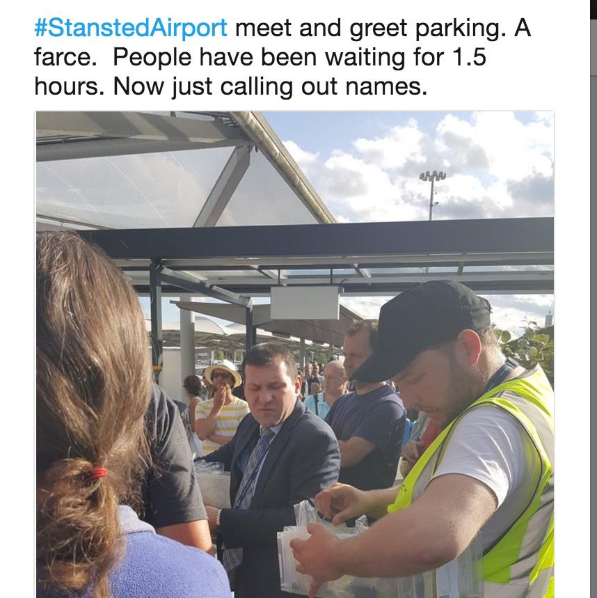 Meet And Greet Chaos Over Car Keys At Stansted Airport Metro