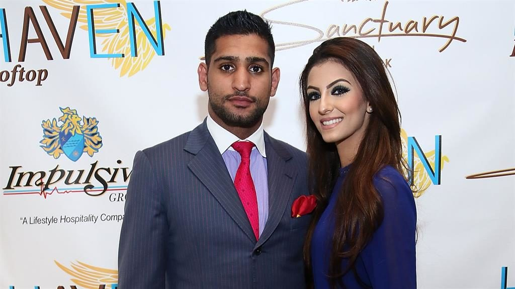 Going their separate ways? Amir Khan with his wife Faryal Makhdoom PICTURE: GETTY