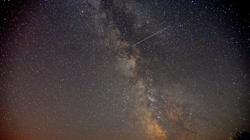 Perseid meteor shower 2017