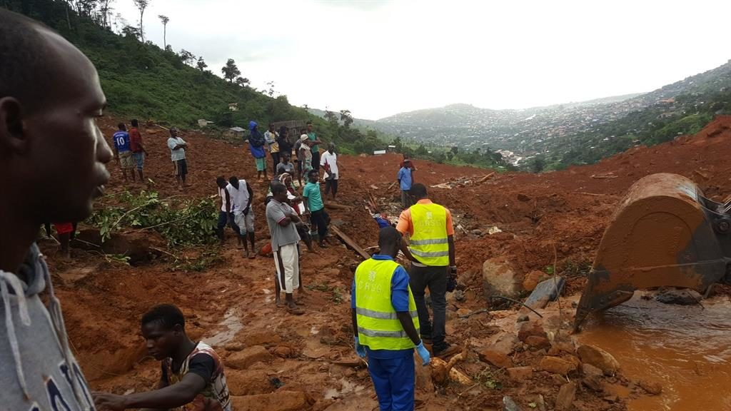 Sierra Leone declares seven-day mourning for mudslide victims