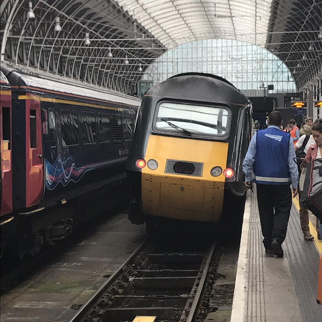 Passenger train derails as it leaves Paddington platform