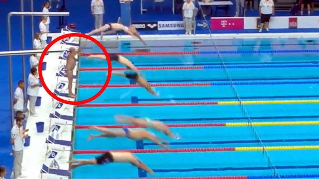 Watch Pro Swimmer's Self-Sacrificing Tribute to Barcelona Attack Victims