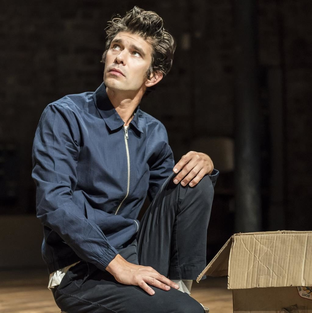 Magnetic: Ben Whishaw plays a visionary who talks to victims of violence PICTURE:  JOHAN PERSSON