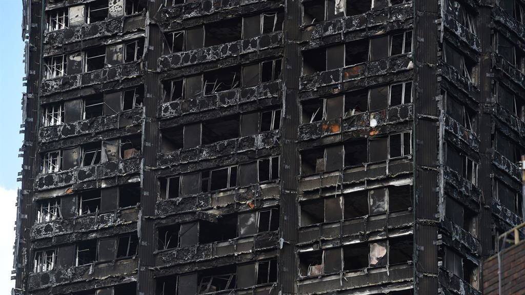 Response to Grenfell fire not enough, admits May