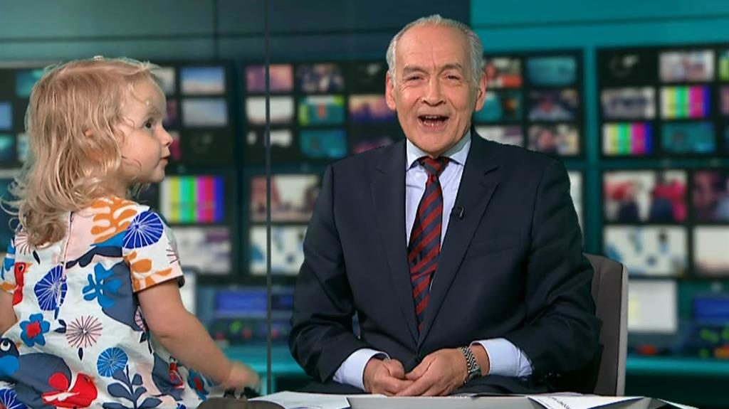 Toddler Steals the Show During Newscast