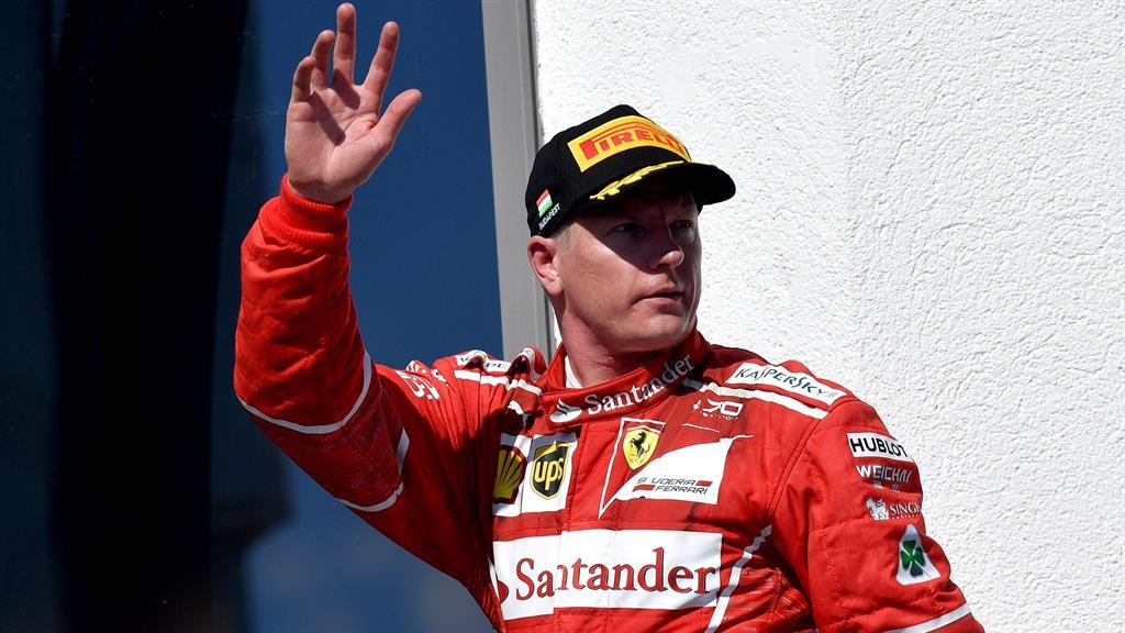 Ferrari retains Raikkonen for 2018 season
