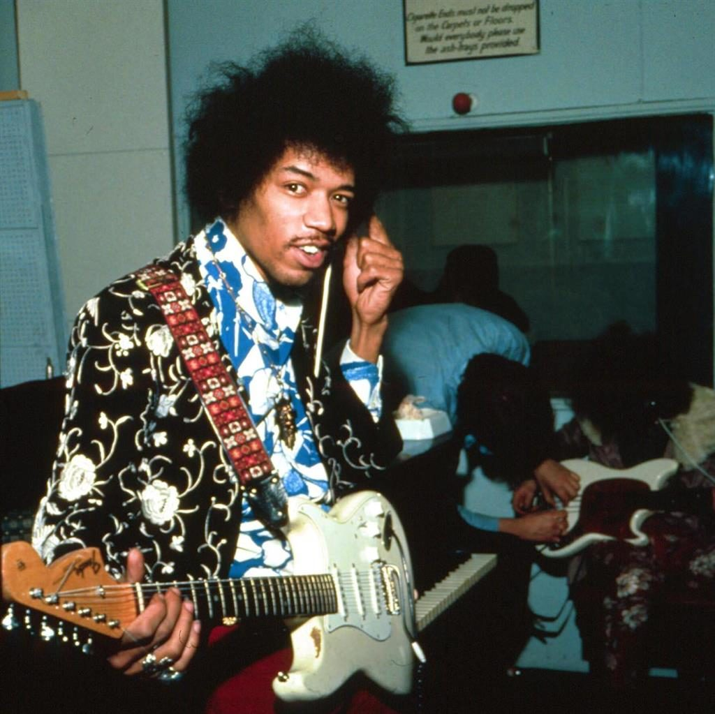 Rock legend: Guitar hero Jimi Hendrix PICTURE: REX