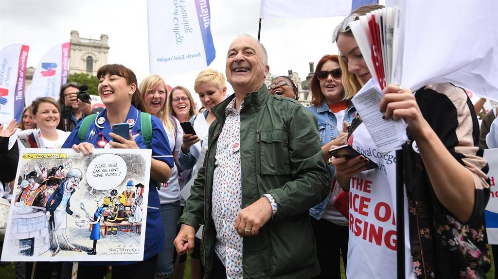 Most Tory voters believe nurse pay cap should be lifted