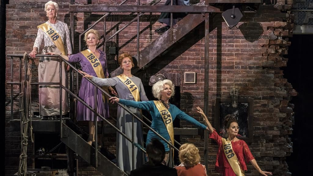 Perfect production: Former hoofers meet again in Stephen Sondheim's Follie PICTURE: JOHAN PERSSON