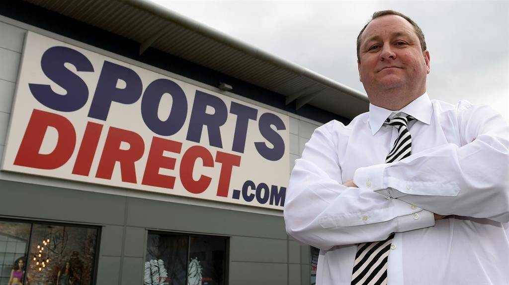 Sports Direct chairman survives re-election vote