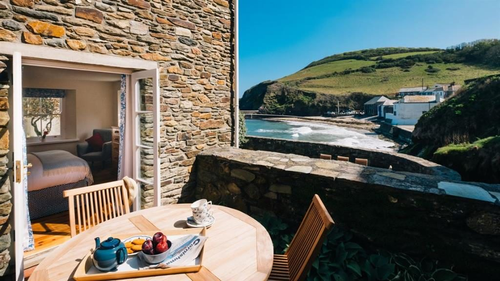 Coast story: This eight-person cottage is in the Cornish fishing village of Gorran Haven, from where you can go on a sea adventure