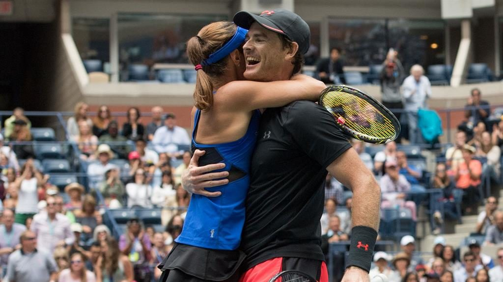 US Open 2017: Murray, Hingis win mixed double