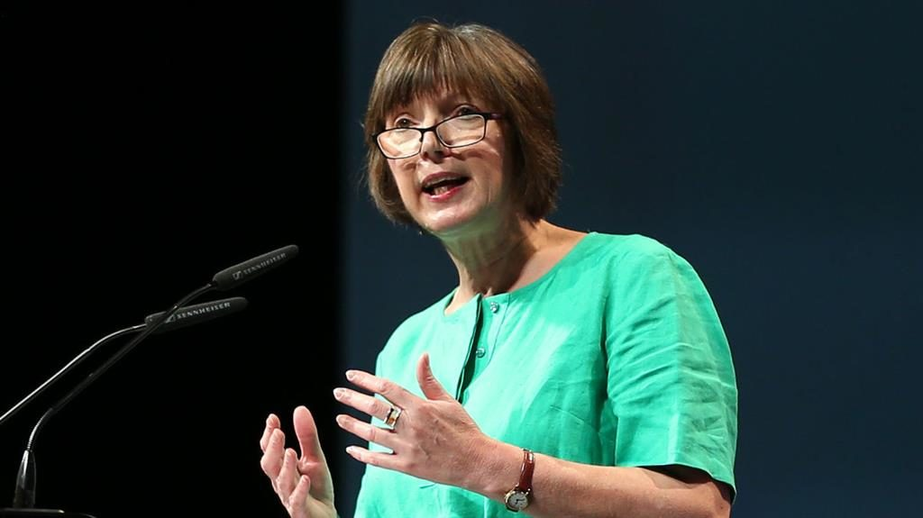 Throwaway culture: Frances O'Grady says staff have little control PICTURE: PA