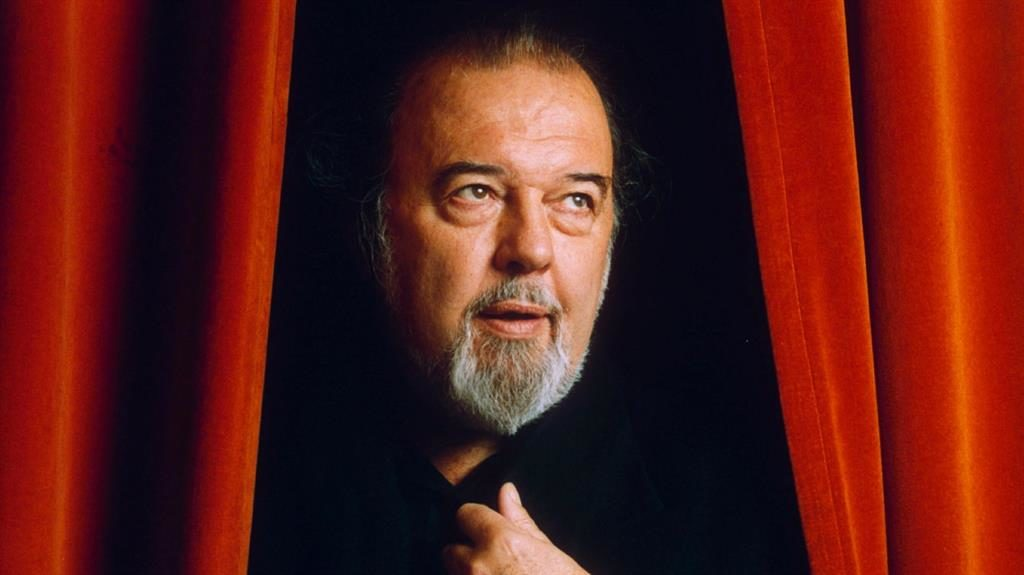 Curtain call: Sir Peter Hall