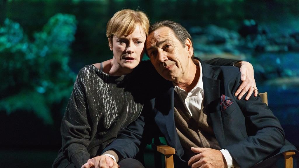 Hollywood memories: Robert Lindsay plays Jack Cardiff and Claire Skinner his wife Nicola PICTURE: MANUEL HARLAN