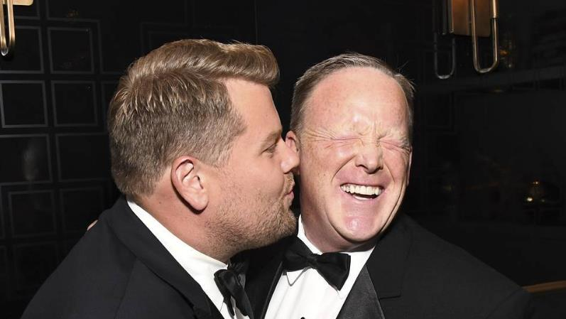 Sean Spicer on his surprise Emmys appearance: