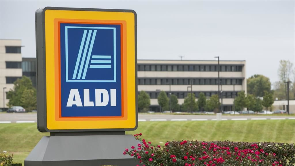 Record sales at Aldi but profits dip