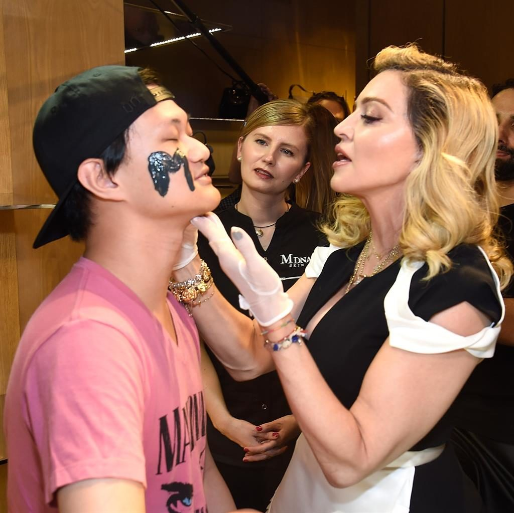 Madonna launches MDNA Skin at Barneys New York Special