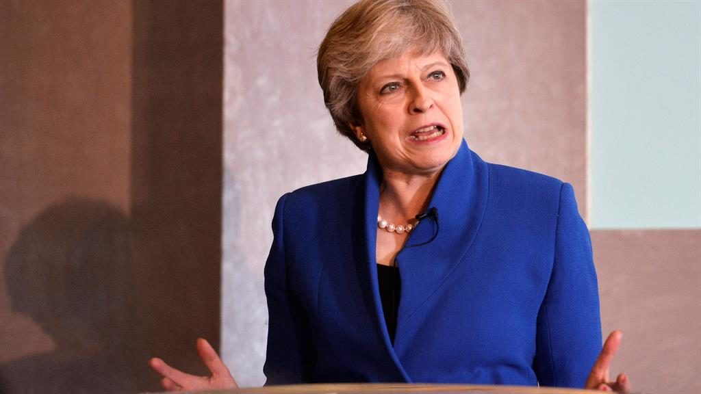 UK PM May faces new tensions before Conservative conference