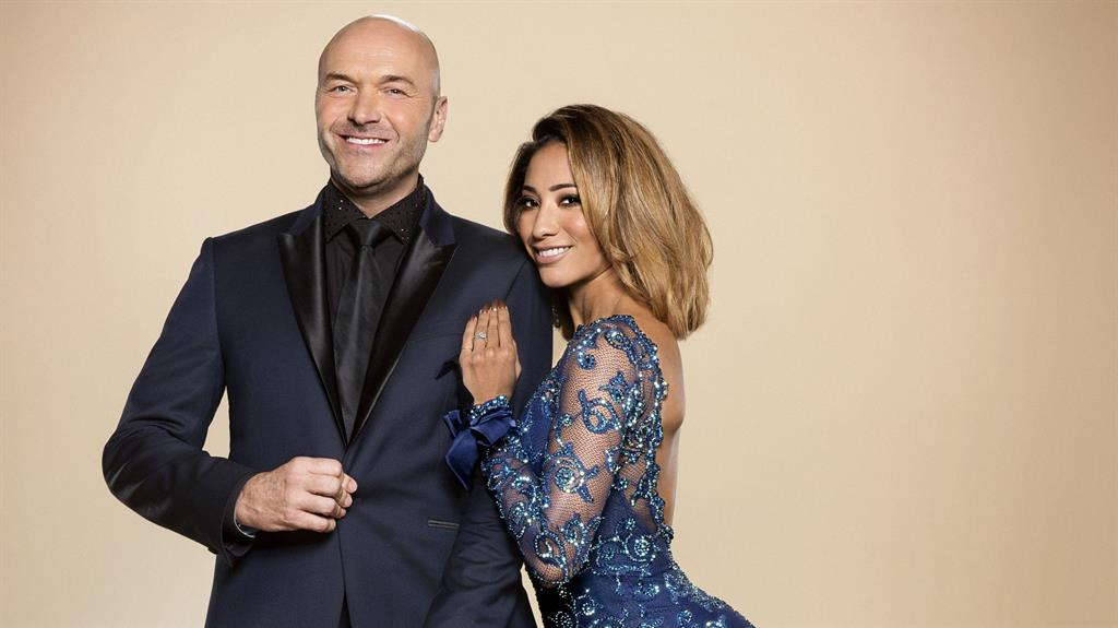 Strictly star reveals