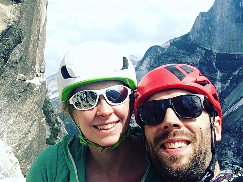 British climber who died in Yosemite rock slide saved his wife's life