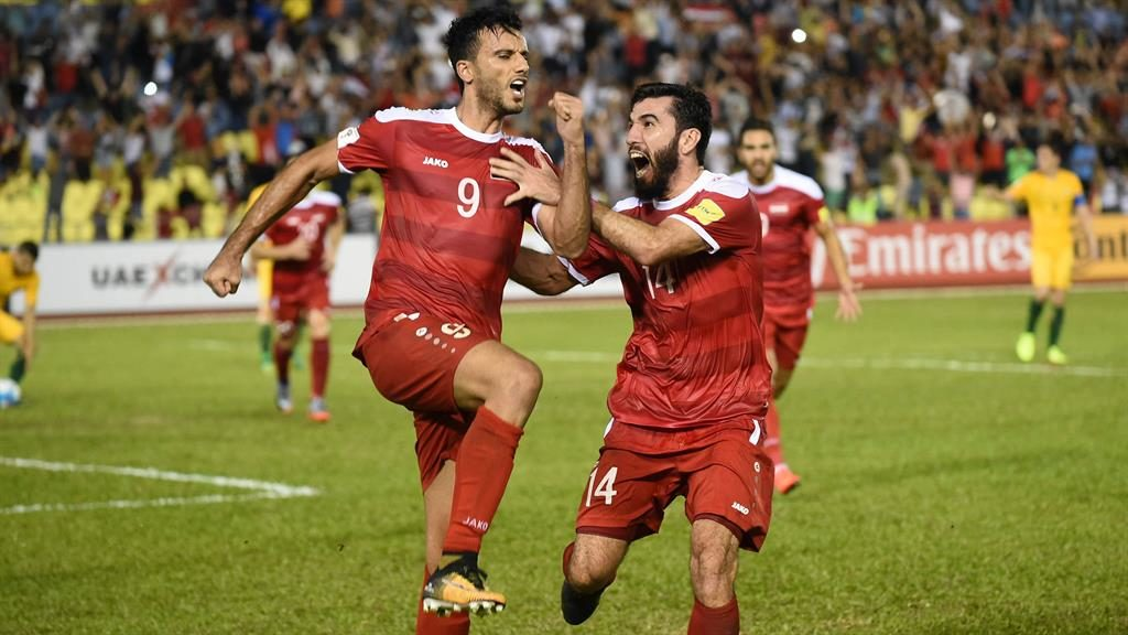 Syria's World Cup hopes alive after draw
