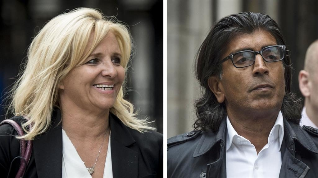 High Court battle: Tagilde and Asif Aziz at the High Court PICTURE: PA