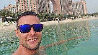 Dubai ordeal: Jamie Harron PIC: CSNEWS