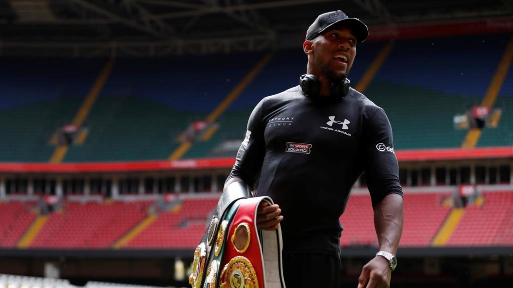 Anthony Joshua Responds To Carlos Takam Replacing Kubrat Pulev