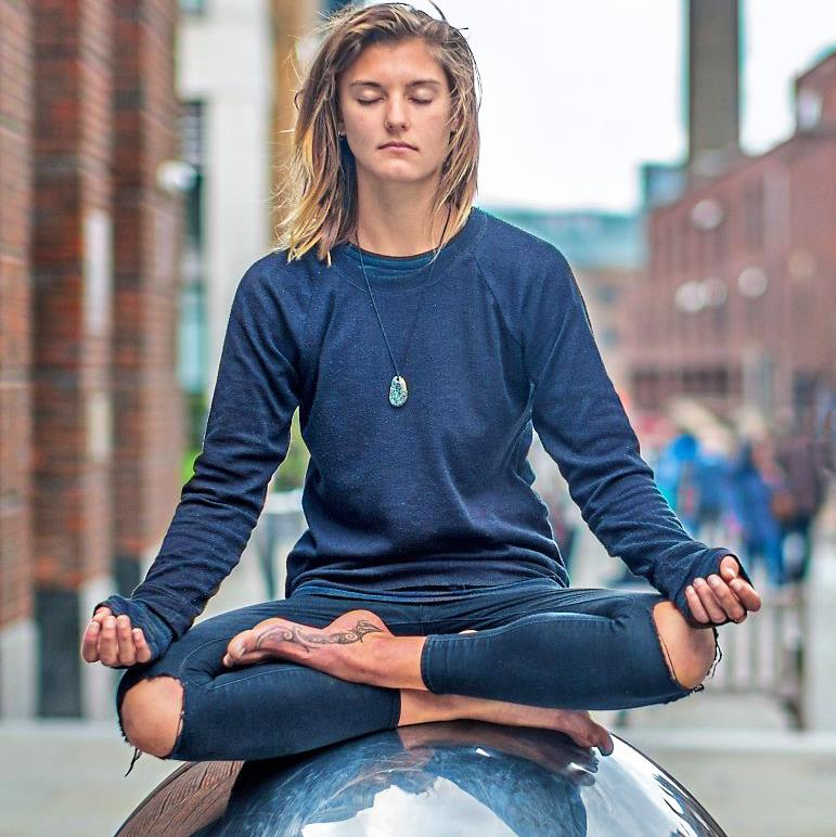 Having a ball: Meditation can help relaxation and boost confidence