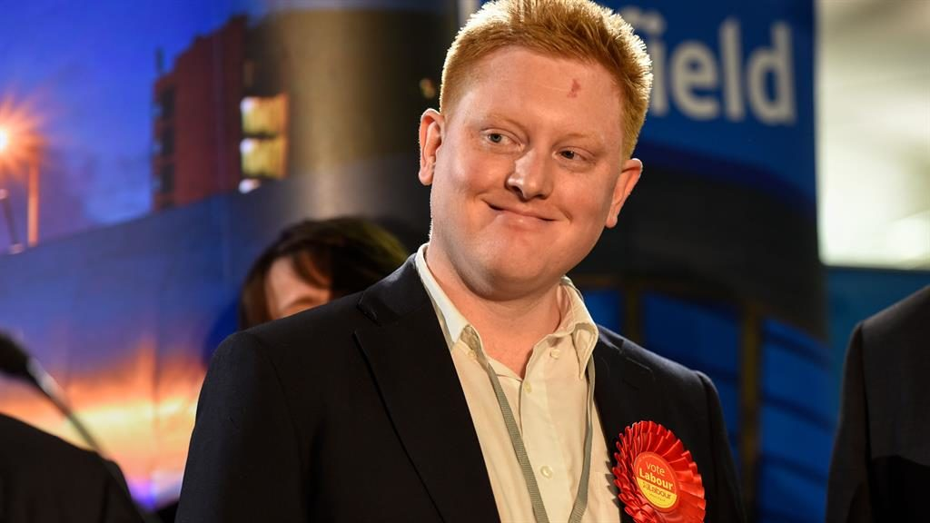 Lad culture' Jared O'Mara said he had changed PIC GUZELIAN