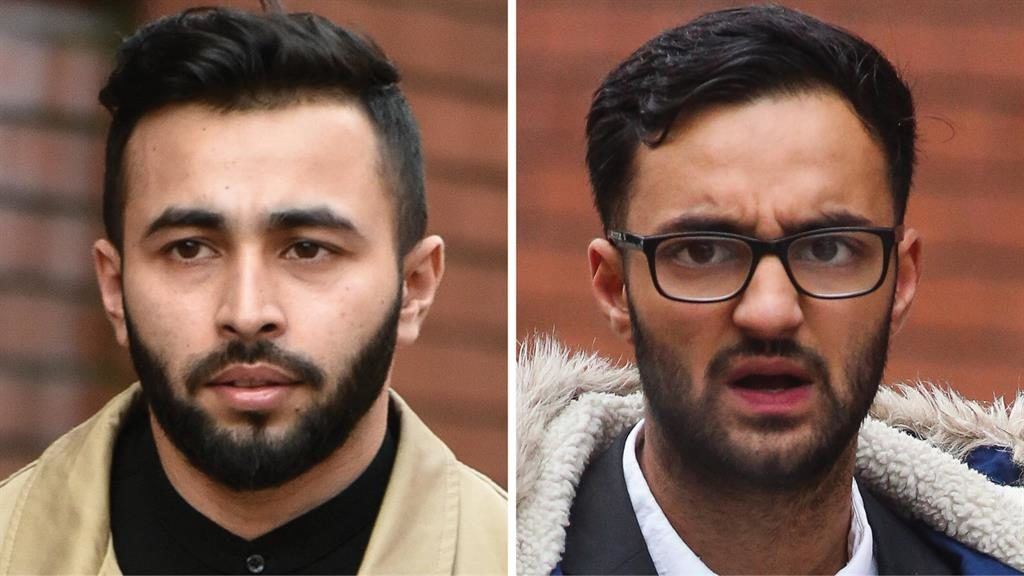 Trial: Shahrear Islam-Miah and Haroon Sharif deny charge PICS: SWNS